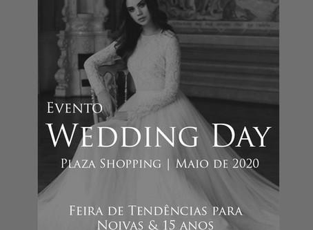 Wedding Day 2020 Feira de Tendências  tem parceiros incríveis no seu Lançamento. Confira
