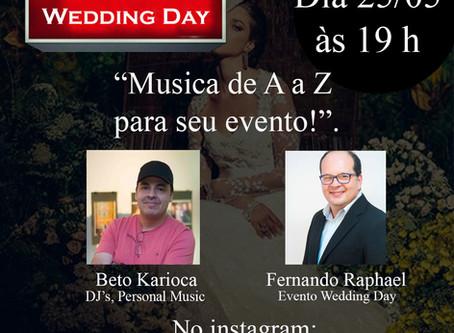 """Live: Fernando Raphael & o DJ, Personal Music Beto Karioca tema """"Musica de A a Z para seu evento!."""""""