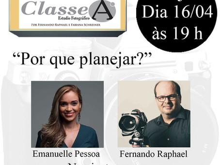 Dica Wedding Day: Live no Classe A Estúdio com Fernando Raphael & Emanuelle do Dia D Cerimonial