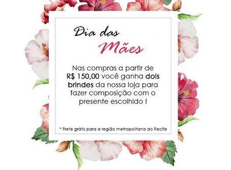 Dica Wedding Day: Super oferta da rosana araujo decor para o dia das mães!!!