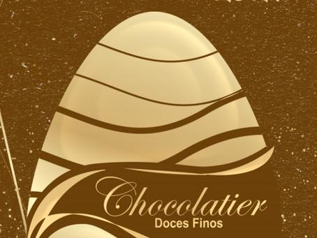 Feliz semana santa e boa pascoa com a Chocolatier doces finos