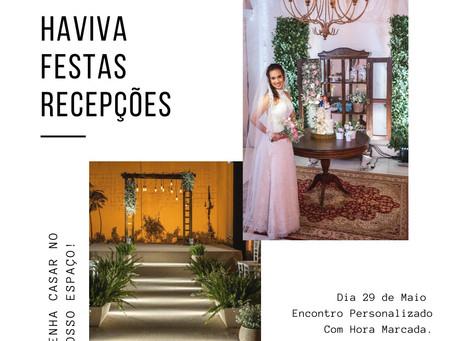 Encontro de Noivas & Debutantes Haviva Festas & Wedding Day.