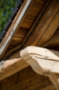 Charpente en vieux bois