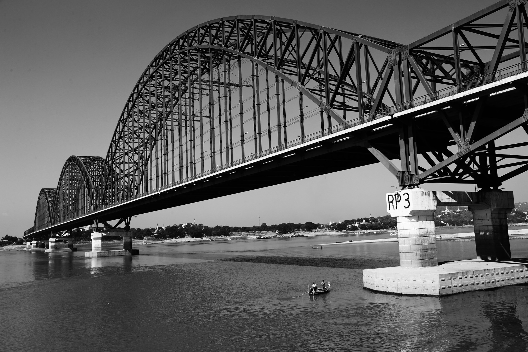 Bridge over the Irrawaddy