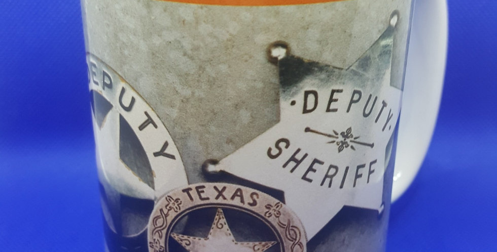 LOGO Mug with Sheriff, Deputy and Ranger Badges