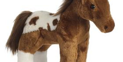 """Dakota"" Standing Horse - Plush Toy"