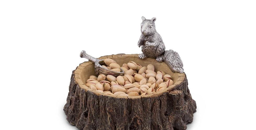 Nut Bowl - Standing Squirrel