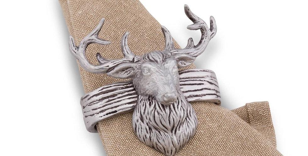Napkin Rings - Elk Head