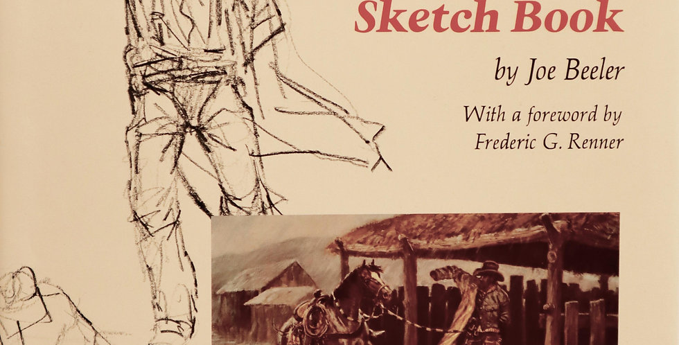 The Joe Beeler Sketch Book  (FIRST EDITION)