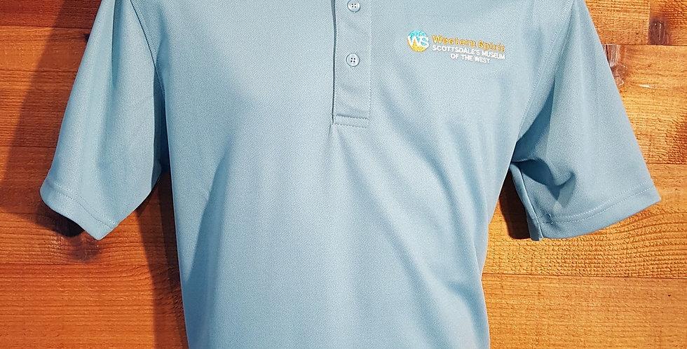 LOGO Golf Shirt Blue