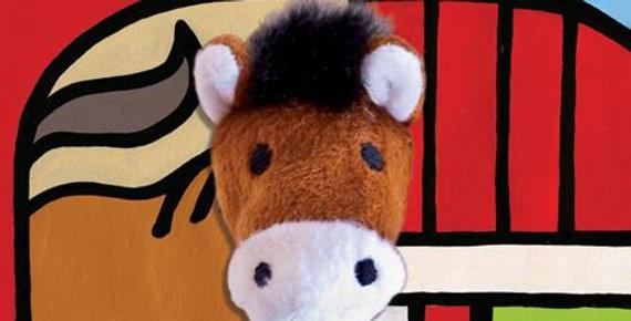 Little Horse Finger Puppet Book (Board Book)