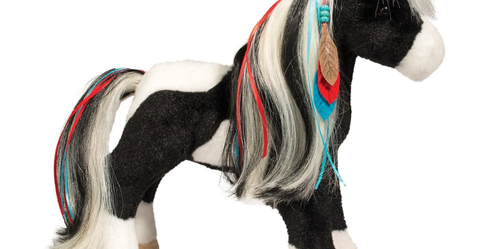 """Warrior Princess"" - Plush Horse"