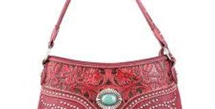 Trinity Ranch Tooled Design Handbag