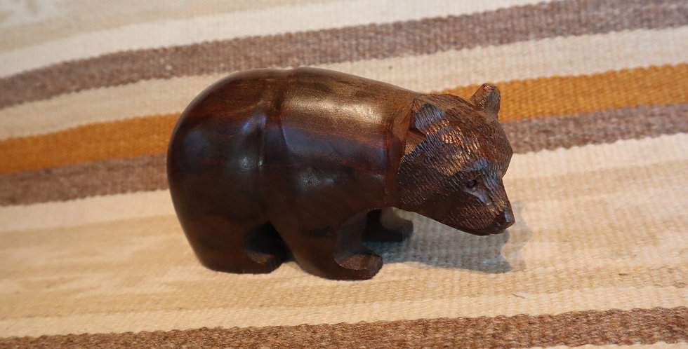 Ironwood Hand Carved - Bear