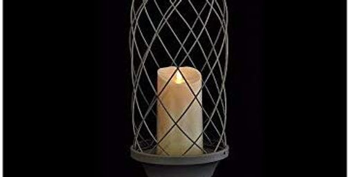 "Luminara 24"" Birdcage with 7"" Indoor/Outdoor Candle"