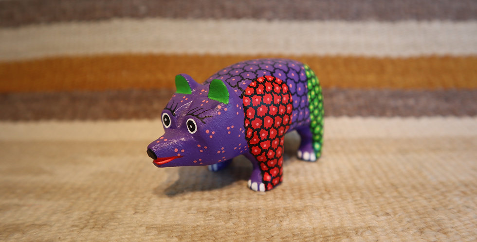 Oaxacan Wood Carving - Pig