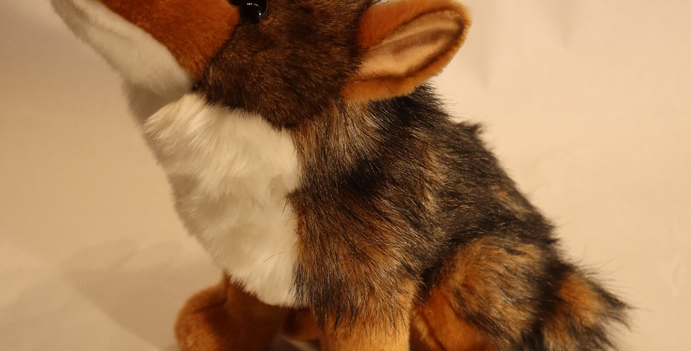 """Rambler"" the Plush Coyote"