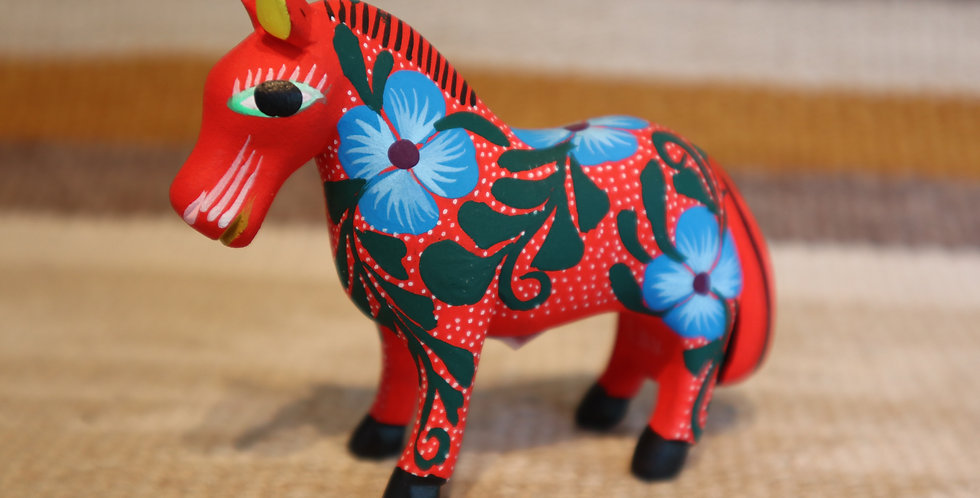 Oaxacan Wood Carving - Horse