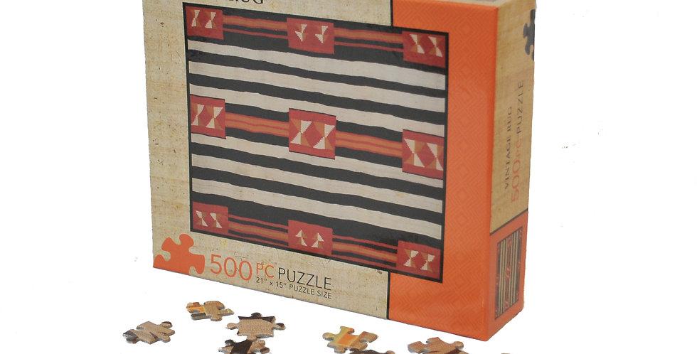 J. Alexander: 500 Piece VINTAGE RUG PUZZLE