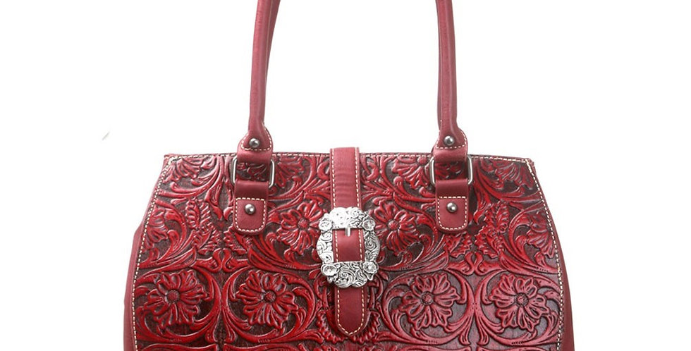 Trinity Ranch Tooled Design Collection Tote