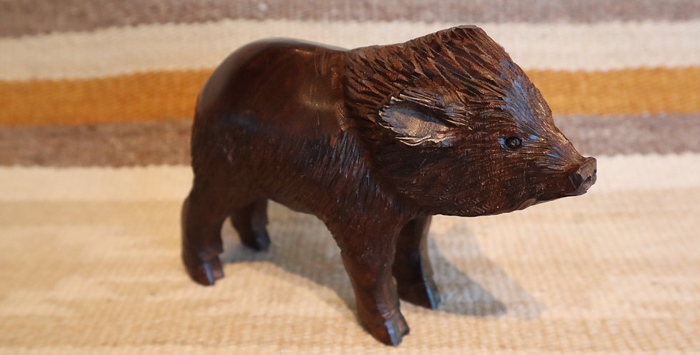 Ironwood Hand Carved - Javalina