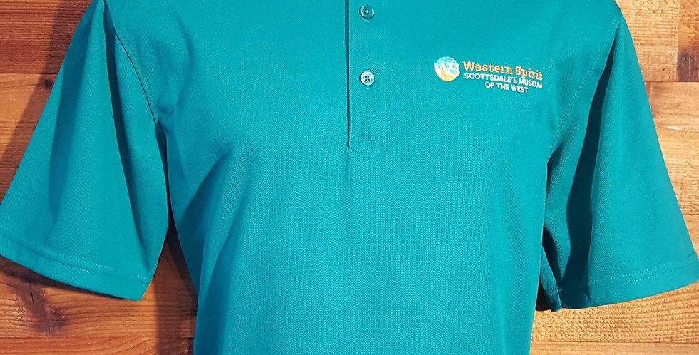 LOGO Golf Shirt Teal Green