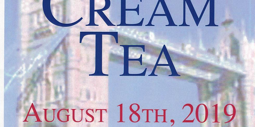 Ascension for a traditional British Cream Tea.
