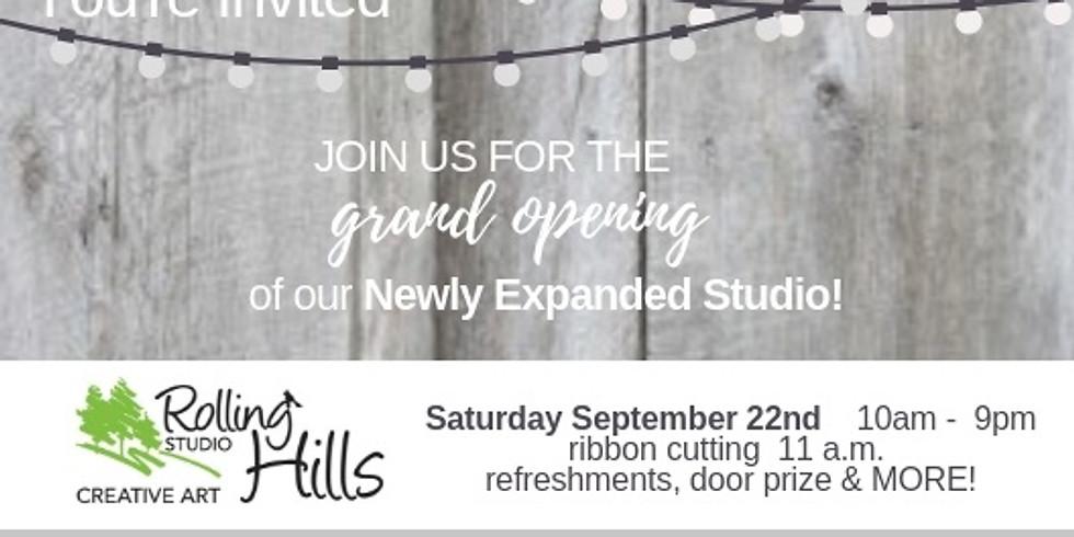 ROLLING HILLS ART STUDIO GRAND OPENING