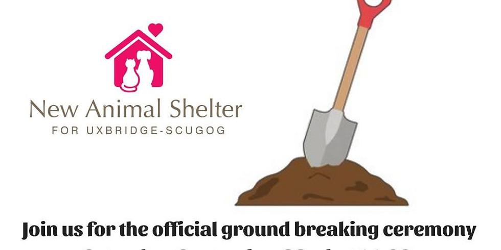 GROUND BREAKING CEREMONY NEW ANIMAL SHELTER