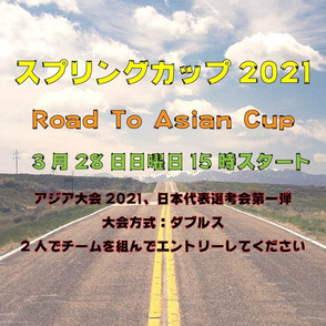 ビアポンスプリングカップ2021公式結果