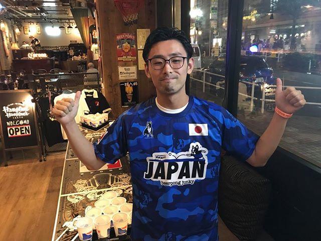 ビアポン世界大会2018 WSOBP VIII 日本代表