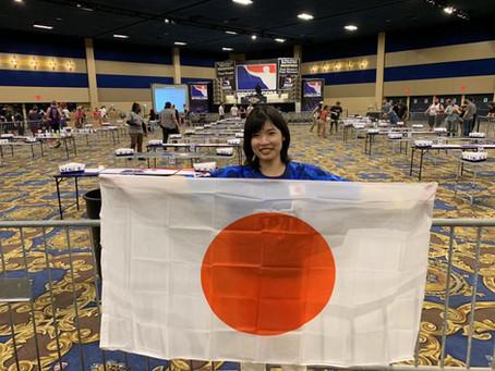 世界大会2019日本代表~柴田 優 レポート