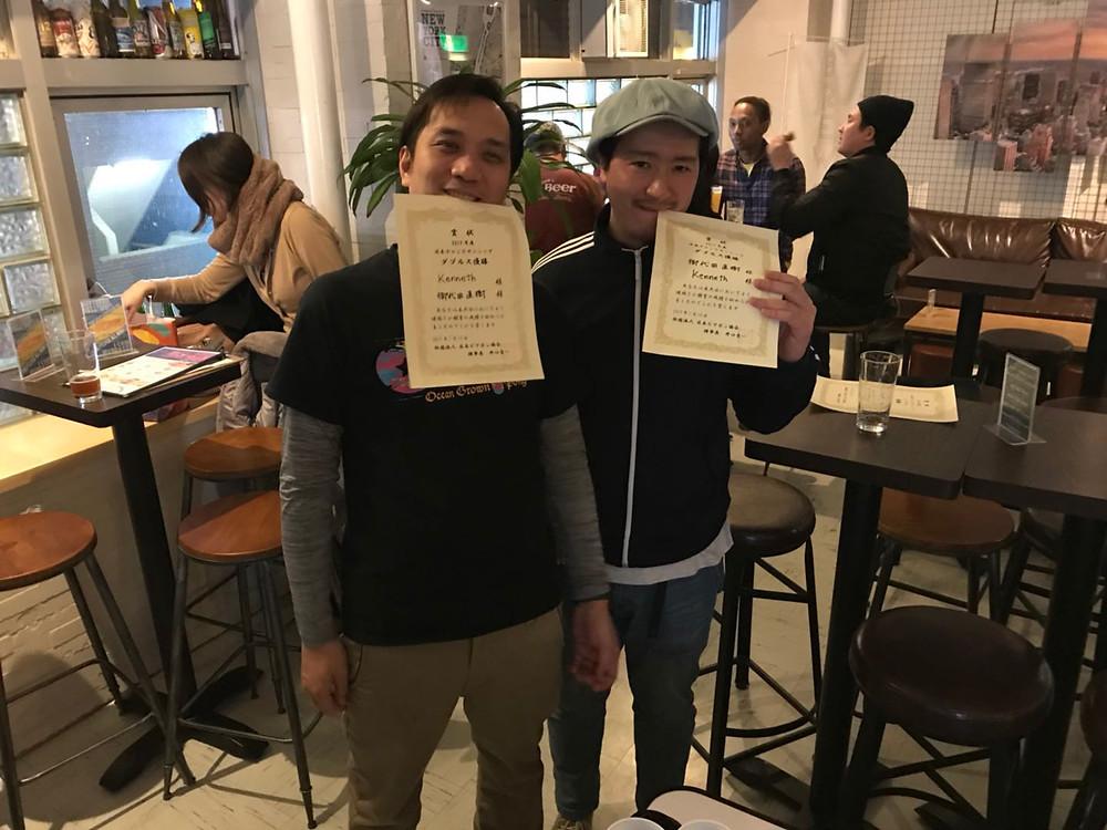 日本ビアポンチャンピオンシップ2017 優勝