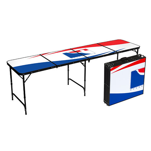 BPONG.COM WSOBP公式ビアポンテーブル シロ Beer Pong Table White