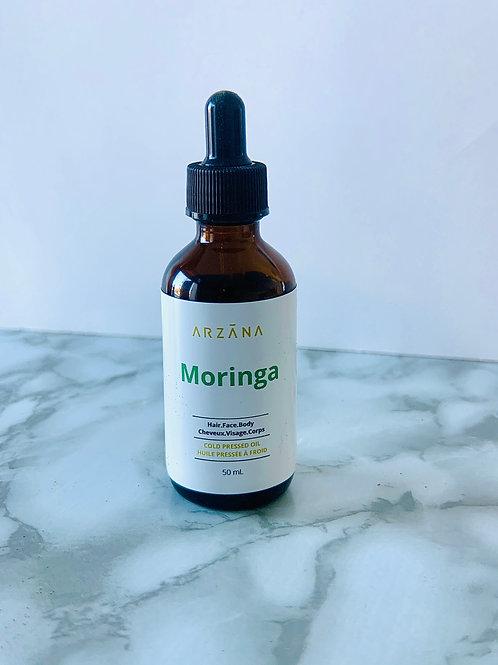 Cold pressed Moringa Oil (Natural) - Non- greasy Oil