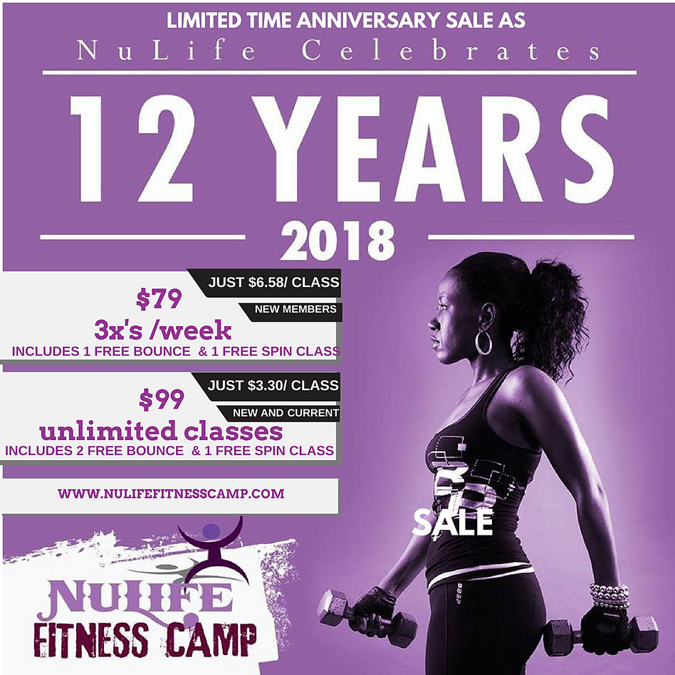 nulife fitness camp schedule | fitness and workout