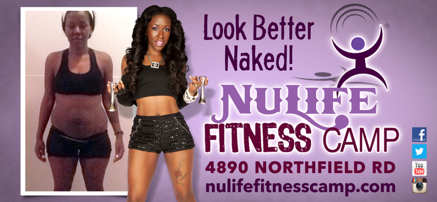nulife fitness camp | work hardweigh less!