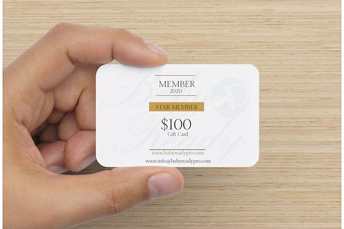 $100 Baby Ready Pro Gift Card