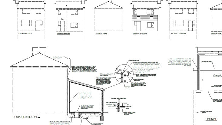Building Plan Drawn By Precision Technical Design