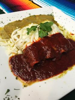 Tricolor Enchiladas