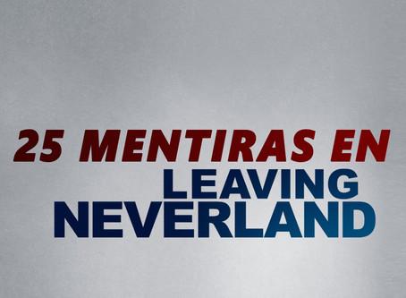 Veinticinco mentiras que te contaron en Leaving Neverland