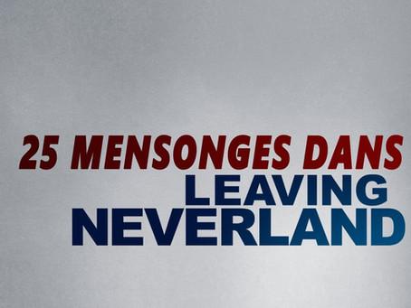 """Vingt-cinq mensonges auxquels on a essayé de vous faire croire dans """"Leaving Neverland"""""""