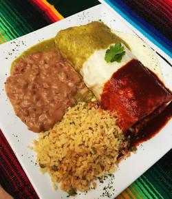 Tricolor Wet Burrito