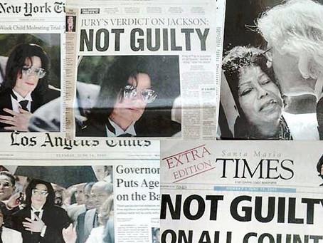 בית המשפט מזכה את מייקל ג'קסון: האם הצדק יצא לאור, או שמא נרמס? (15.6.2005)