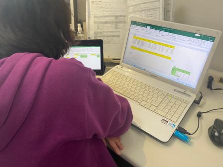 パソコン村大村教室 目標は表計算2級検定