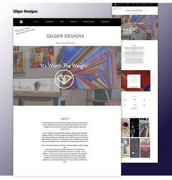 Gilger Designs Website