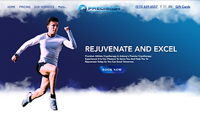 Precision Athlete Website
