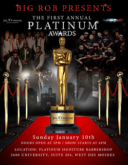 Platinum Kutz Flyer