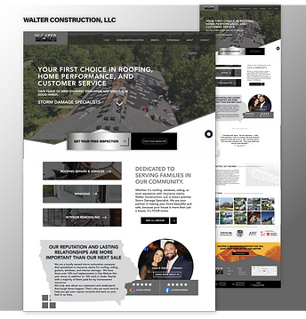 Walter Construction Website