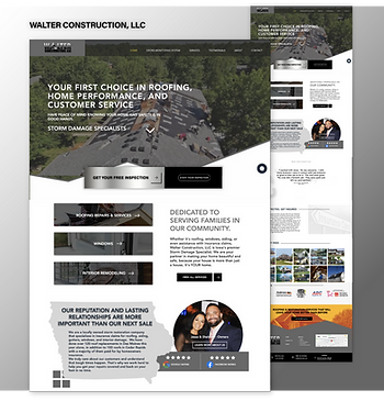 Walter Construction Website